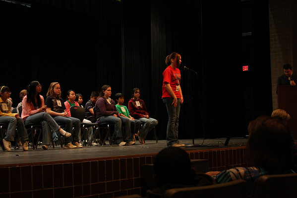 Area 20 District Spelling Bee