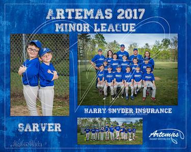 TM T3 Minor Blue Sarver