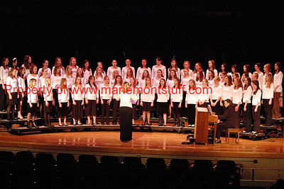 MJHS choral concert 09