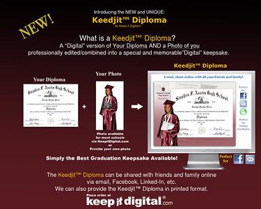 2013 Austin High Keedjit™ Diploma Proof Photos