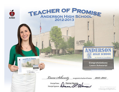 AISD Teachers of Promise 2012-13
