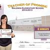 BaldwinElementarySchool_TeacherofPromise_Certificate_2012-13