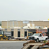 Ayer Shirley Rigional High School is still under construction on Friday afternoon. SENTINEL & ENTERPRISE/JOHN LOVE