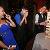 From left, Molly Cadogan and Ulises Resendiz of Ayer, and Max Milkowski of Shirley, play Jenga at the Ayer-Shirley prom. (SUN/Julia Malakie)