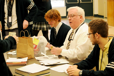 BEARD GROWING CONTEST , CAMDEN CATHOLIC H.S. , CHERRY HILL NJ. 02/28/13