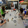 "Brigit Galloy, left,  Jordan Galloway, Maya Parr,  Alli Cooke, and Kaia Neely, all  middle school students at Boulder's Horizons K-8, are working in an art room in the new wing of the school funded by a Colorado BEST grant.<br /> For more photos at the school, go to  <a href=""http://www.dailycamera.com"">http://www.dailycamera.com</a>.<br /> Cliff Grassmick  / November 9, 2012"
