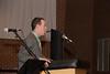 Josh deStiguer, Youth Director at Faith Presbyterian Church, gives the Benediction.