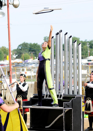 Don Knight    The Herald Bulletin<br /> Band Day at the State Fair on Saturday.