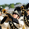Don Knight |  The Herald Bulletin<br /> The Lapel Marching Bulldogs perform during Band Day at the State Fair on Saturday.