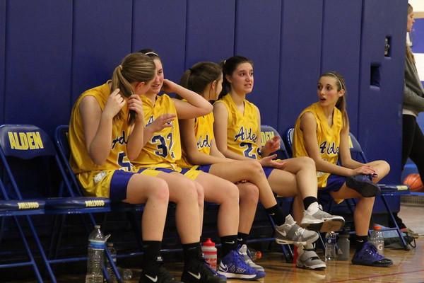 Alden Girls Basketball VS Cleve Hill
