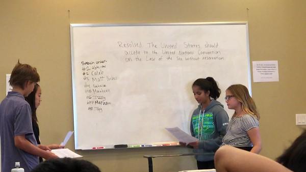 Bay Area Debate Academy July 2018