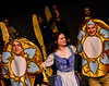 """KRISTOPHER RADDER - BRATTLEBORO REFORMER<br /> Students at Bellows Falls Union High School rehearses """"Beauty and the Beast Musical"""" on Monday, March 20, 2017."""