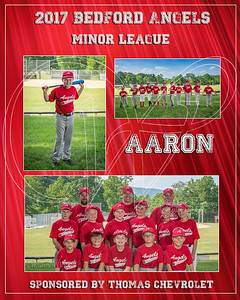 2017 Bedford Angels TM Aaron