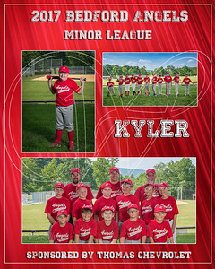 2017 Bedford Angels TM Kyler