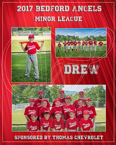 2017 Bedford Angels TM Drew