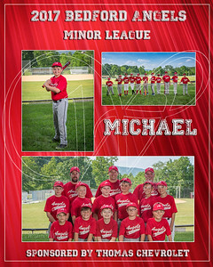 2017 Bedford Angels TM Michael