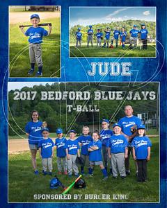 TeamMate Bed Blue Jays Jude