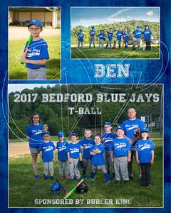 TeamMate Bed Blue Jays Ben