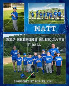 TeamMate Bed Blue Jays Matt