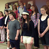 BMS Concert Choir performs during the Bethel Middle School Curriculum Expo 2013 on May 7, 2013.