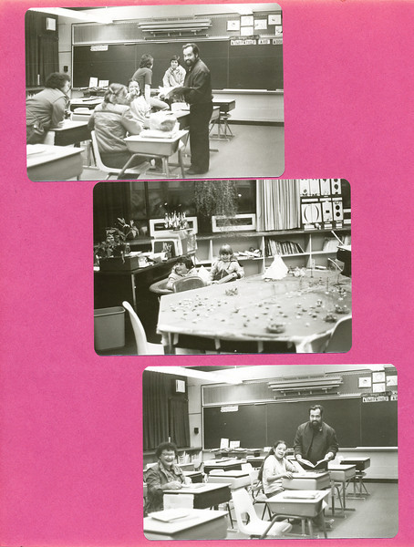 Bishop Belleau School Album 1984. Father Normand.