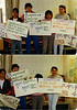 Posters about AIDS made by BBS students