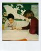Cherlyn Wesley working with a student teacher