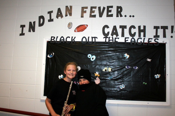 Black Out The Eagles Pep Rally 2011
