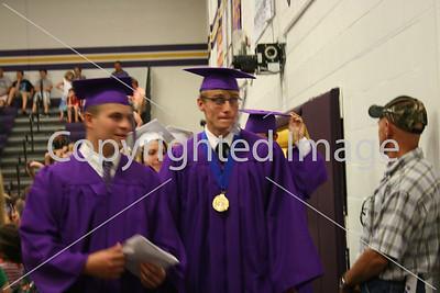 Blissfield High School graduation 2014