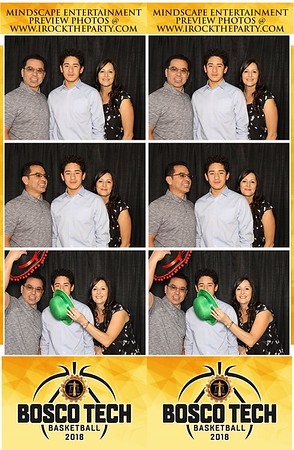 Bosco Tech Basketball Banquet- Photo Booth Pictures
