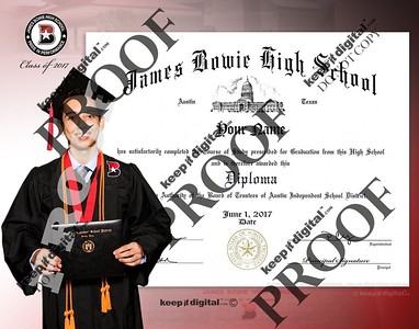 2017 Bowie Keedjit Diploma Proofs Left