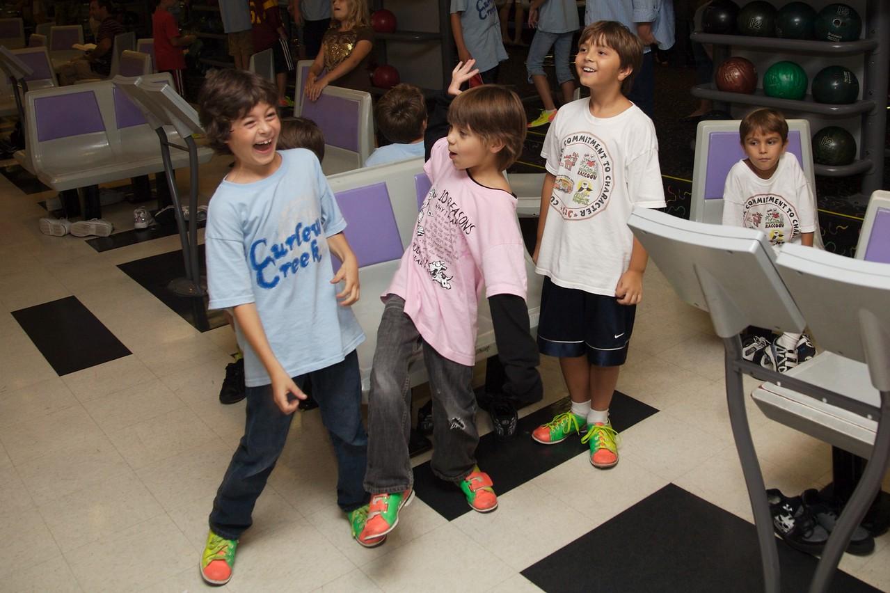 Bowling Ethan, Tyler, Mathew, Miles