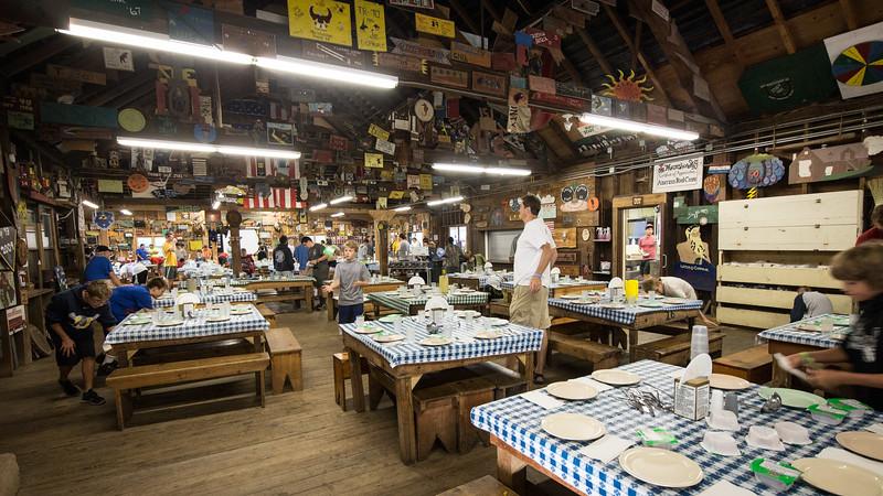 Camp Horseshoe Outpost Night 7/30-31/2015