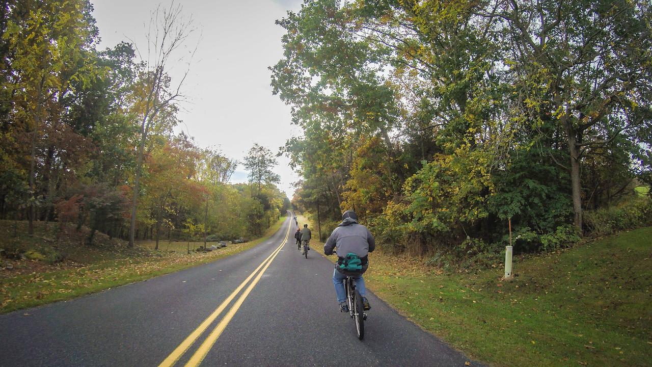 Gettysburg Biking Tour 10/17/2015