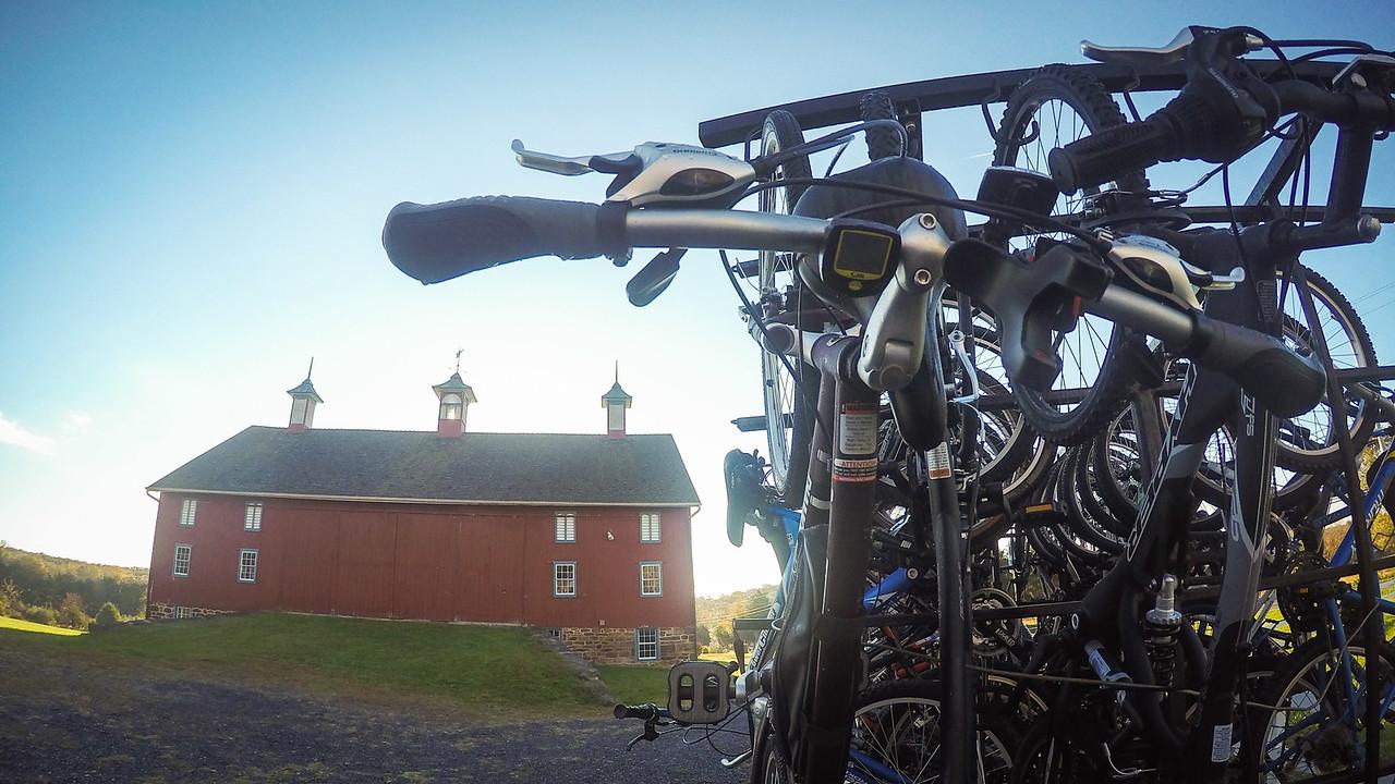 Troop 31 Gettysburg Biking Outing 2015