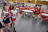 """Students head to the gym for finale of """"Brave"""" video shoot at Soudeton Area High School.   Wednesday,   March 12,   Photo by Geoff Patton"""