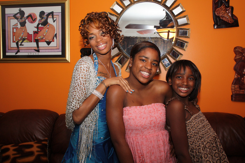 My Beautiful Niece's Breshauna, Mikel and Amber