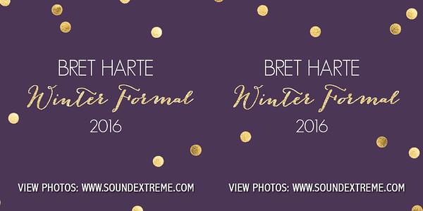 Bret Harte Winter Formal 2016