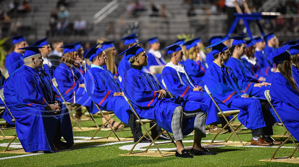 Bullard High School seniors graduated at an in-person ceremony at Panther Stadium on Thursday, June 4.