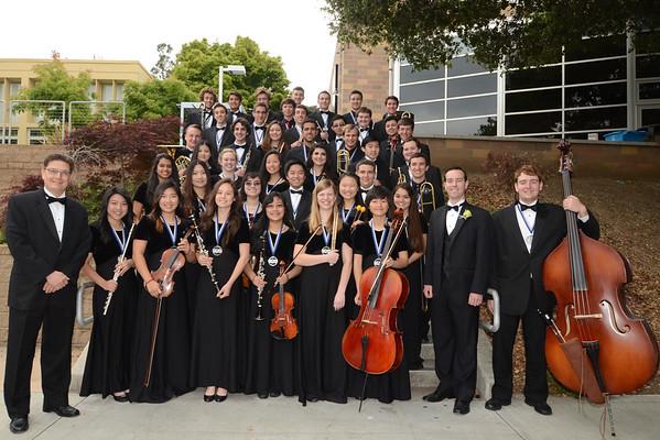 CHS Instrumental Music Grads 2015