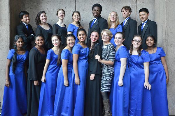 Honor Choir Performance