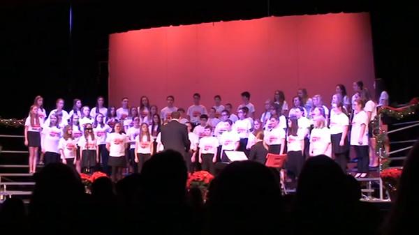 CMS Choir concert Dec 2014