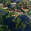 Weber State University aerial photos