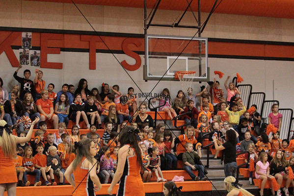 Pep Rally vs Burnet