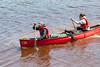 Canoeists returning. 2006 June 13th.