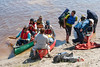 Canoeists returning. 2006 June 13