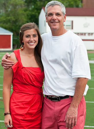 Carlie & Dad at TRS Graduation June 2010