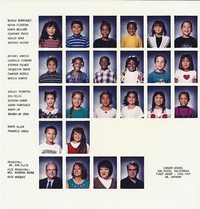 Carson Elementary 1996-1997