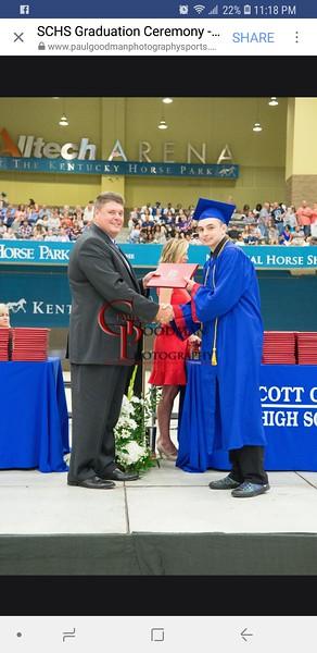 Carson high school graduation