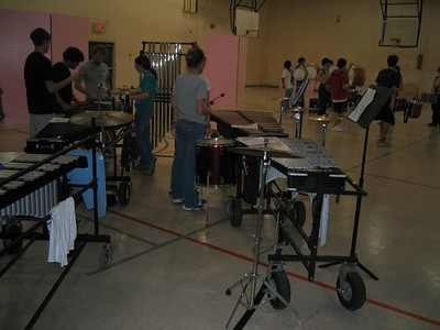 Winterguard & Drumline February 2005